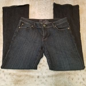 Kut From the Kloth Dark Blue Bootcut Jeans